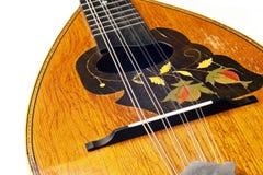 античной изолированная предпосылкой белизна mandolin Стоковое Изображение