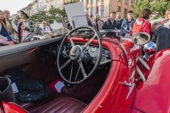 Античные автомобили Стоковое Изображение