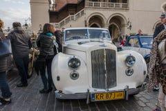 Античные автомобили Стоковая Фотография