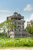 Античные архитектуры светлой башни Стоковое Изображение RF