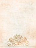 Античные вазы предпосылки на древней стене иллюстрация Стоковое Фото