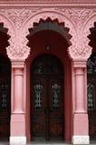 Античные двери и столбцы, Uzhgorod, Украина Стоковое Фото