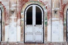 античные двери Стоковое фото RF