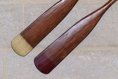 Античные весла Стоковые Фотографии RF