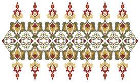 Античные границы тахты и серия сорок пять рамок Стоковые Фото
