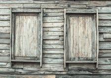 Античные деревянные двери для года сбора винограда Стоковые Фотографии RF