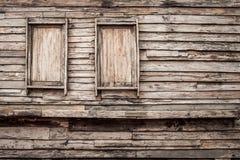 Античные деревянные двери Стоковая Фотография RF