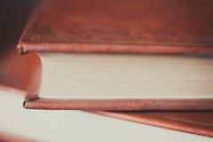 Античные деталь, страницы и крышка книги Стоковые Фото