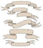 античные знамена Стоковые Изображения RF