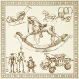 античные игрушки Стоковое Изображение RF