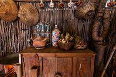 Античные инструменты 2 кухни Стоковое фото RF