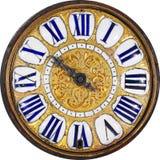 античные классицистические часы Стоковые Фотографии RF
