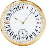 античные классицистические часы Стоковая Фотография