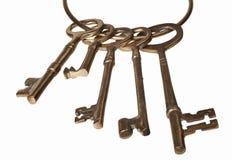 Античные ключи Стоковое Изображение RF