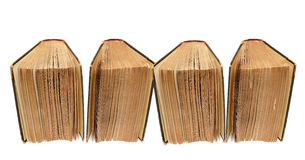 античные книги Стоковая Фотография
