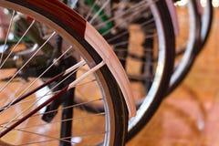 Античные колеса велосипеда Стоковая Фотография