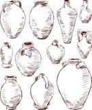 Античные кувшины Стоковое Фото