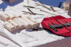античные медицинские поставки Стоковые Фото