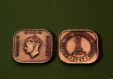 античные монетки стоковое изображение