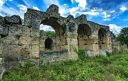 античные мост-водоводы Стоковая Фотография