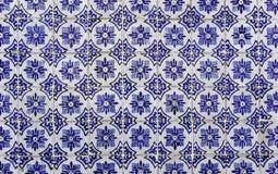 Античные португальские плитки стоковое изображение