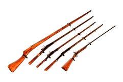 античные пушки Стоковые Фото