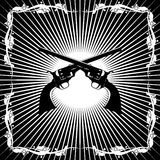 Античные револьверы Стоковое Изображение