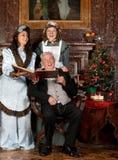 античные рождественские гимны Стоковые Изображения