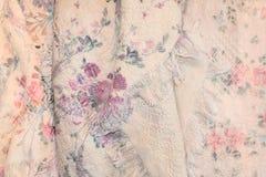 античные розы пинка одеяла Стоковые Фото