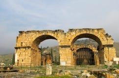 Античные руины города стоковая фотография