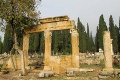 Античные руины города стоковая фотография rf