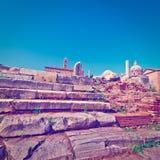 Античные руины Стоковые Фотографии RF