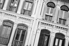 античные старые окна Стоковые Изображения RF