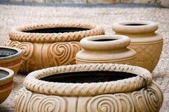 античные старые potteries Стоковые Фото