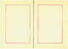 античные страницы книги Стоковые Изображения RF