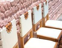 античные стулы стоковое изображение