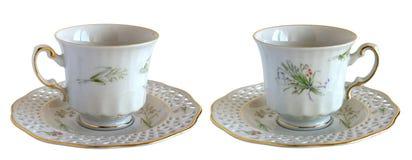 Античные чашки фарфора Стоковое фото RF