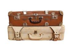 античные чемоданы Стоковое фото RF