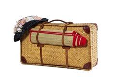 античные чемоданы Стоковая Фотография RF