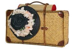 античные чемоданы Стоковое Изображение RF