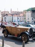 Античный автомобиль в Piran Стоковое Изображение RF