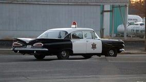 Античный автомобиль полисмена Монтаны Стоковое Фото