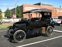 античный автомобиль Стоковые Фотографии RF