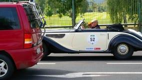 Античный автомобиль, классика 2014 Sachsen Стоковое Фото