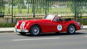 Античный автомобиль, классика 2014 Sachsen Стоковые Фотографии RF