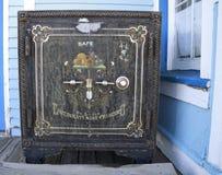 Античный американский сейф Стоковые Фото