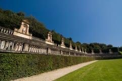 Античный амфитеатр в садах Boboli, Флоренс, Италия Стоковые Фото