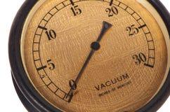 Античный датчик вакуума бакелита Стоковая Фотография RF
