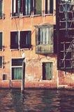 античный балкон Стоковая Фотография RF