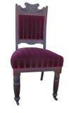 античный бархат стула Стоковое Изображение